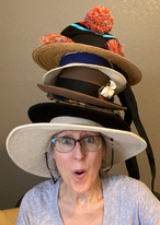 Mary Jo Reutter - Hats, Hats, So Many Hats!: TBR Person of the Week
