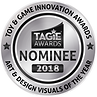 TAGIE Awards Nominee Seal  - Art & Desig