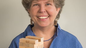"""Interview with Leslie Scott, Inventor of Jenga. """"Sometimes Simple Works"""""""