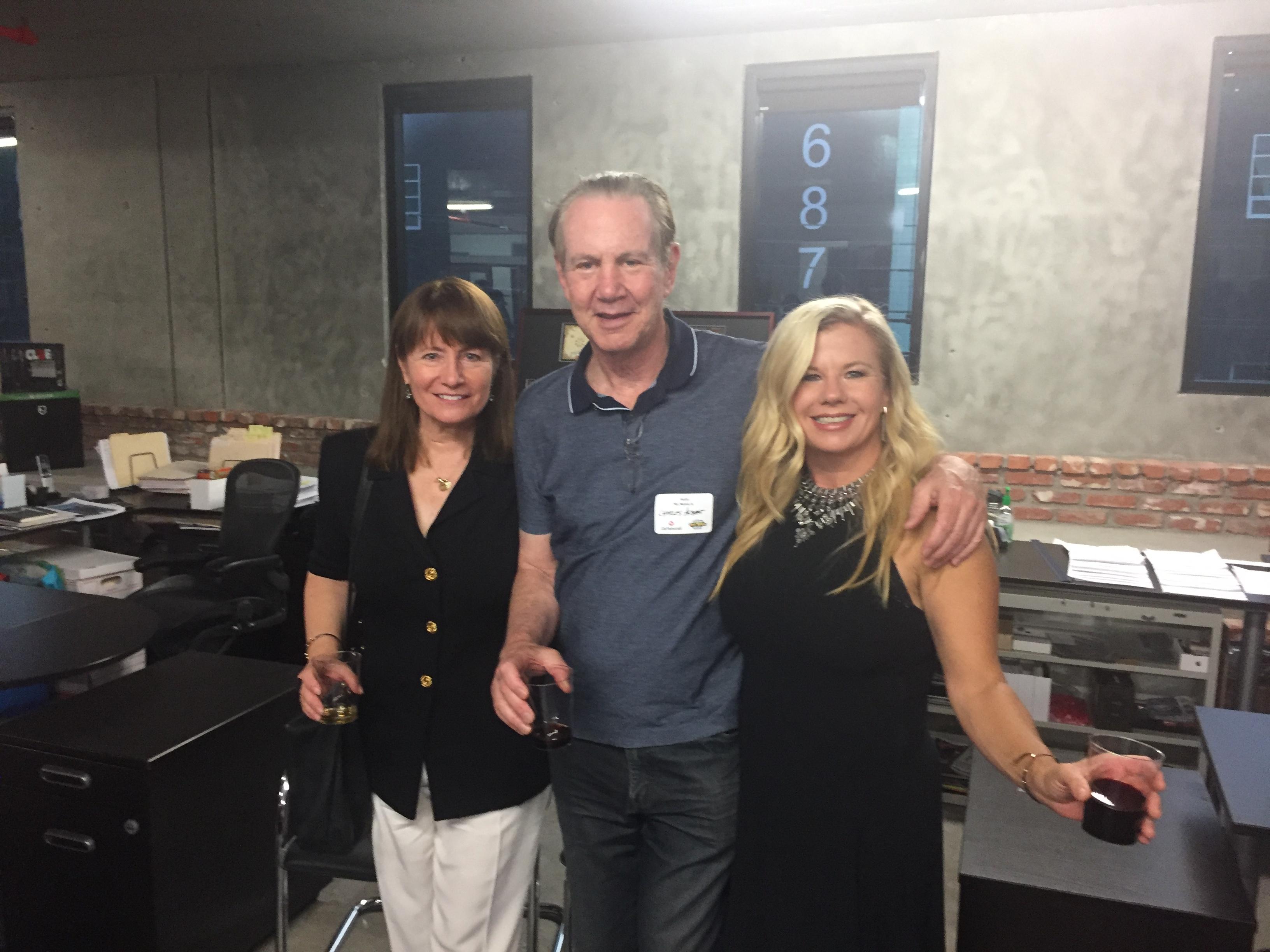 LA Sept 2019 event Mary, Charlie Albet,
