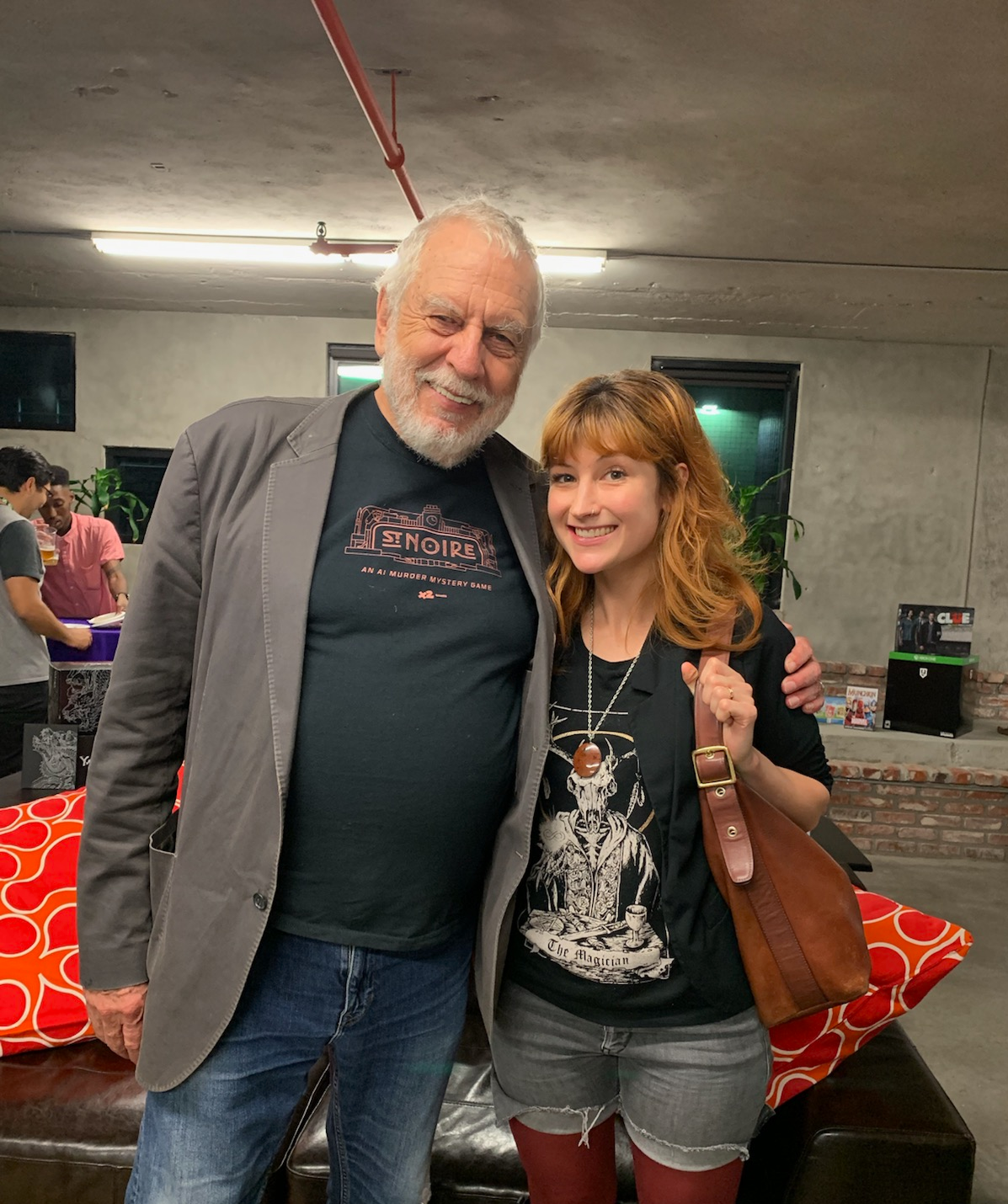 LA Sept 2019 event Nolan Bushnell and An