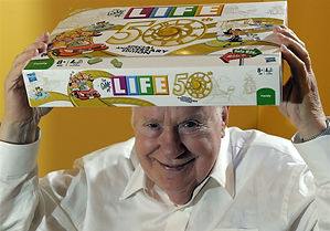 Reuben Klamer with Game of Life on his h