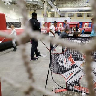 2019 Fair inside Blackhawk rink, pic by