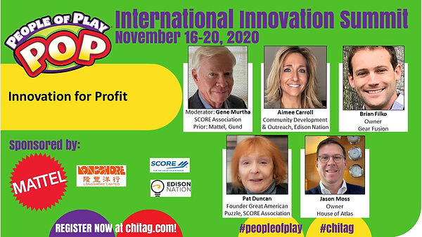 Innovation for Profit CHITAG POP Int'l I