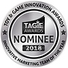 TAGIE Awards Nominee Seal  - Innovative