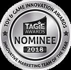 TAGIE Awards Nominee Seal  - Innovative