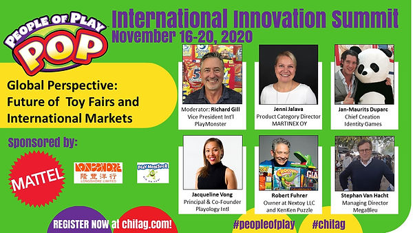 Global Perspective Future of Toy Fairs and International Markets CHITAG POP Int'l Innovati