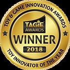 TAGIE Awards Winner Seal - Toy Innovator