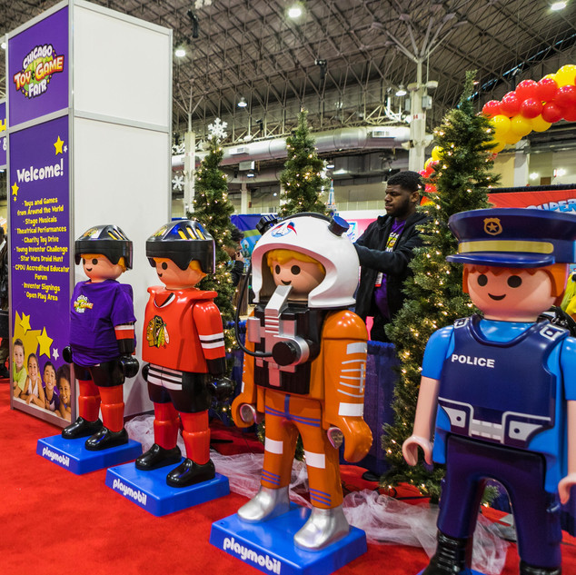 2019 Fair entrance w Playmobil figures.j