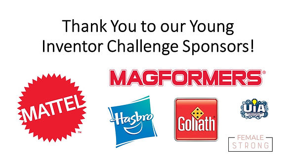 Young Inventor Challenge Sponsors 2020 F