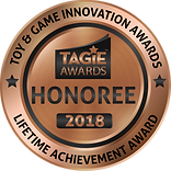 TAGIE Awards Honoree Seal - Lifetime Ach