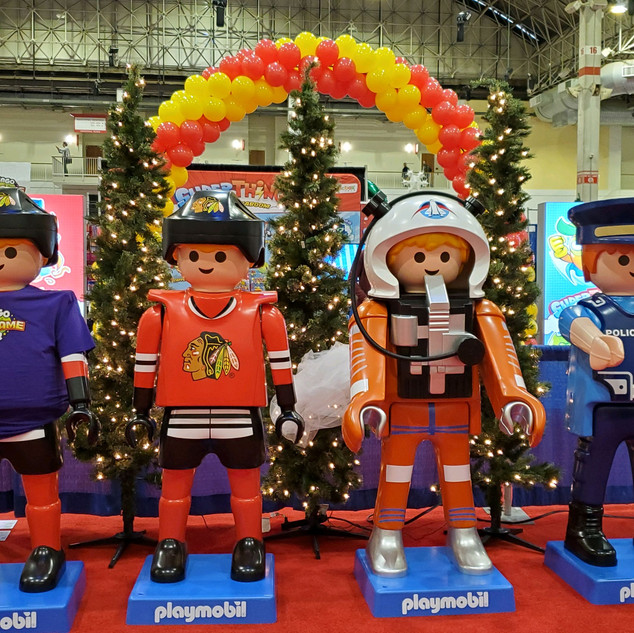 2019 Fair Playmobil Figures, pic by Debb