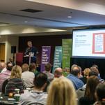2019 Conference Bob Fuhrer w KenKen Scre