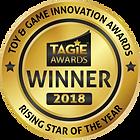 TAGIE Awards Winner Seal - Rising Star o