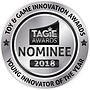 TAGIE Awards Nominee Seal  - Young Innov