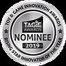 TAGIE Awards Winner Seal - SILVER RISING