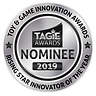 TAGIE Awards Winner Seal - SILVER RISING