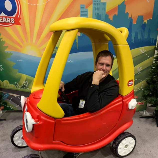 2019 Fair Paul Grzybek in Little Tikes c