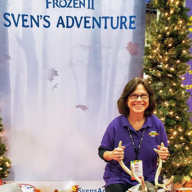 2019 Fair Debbie Labinger on Sven in Fro