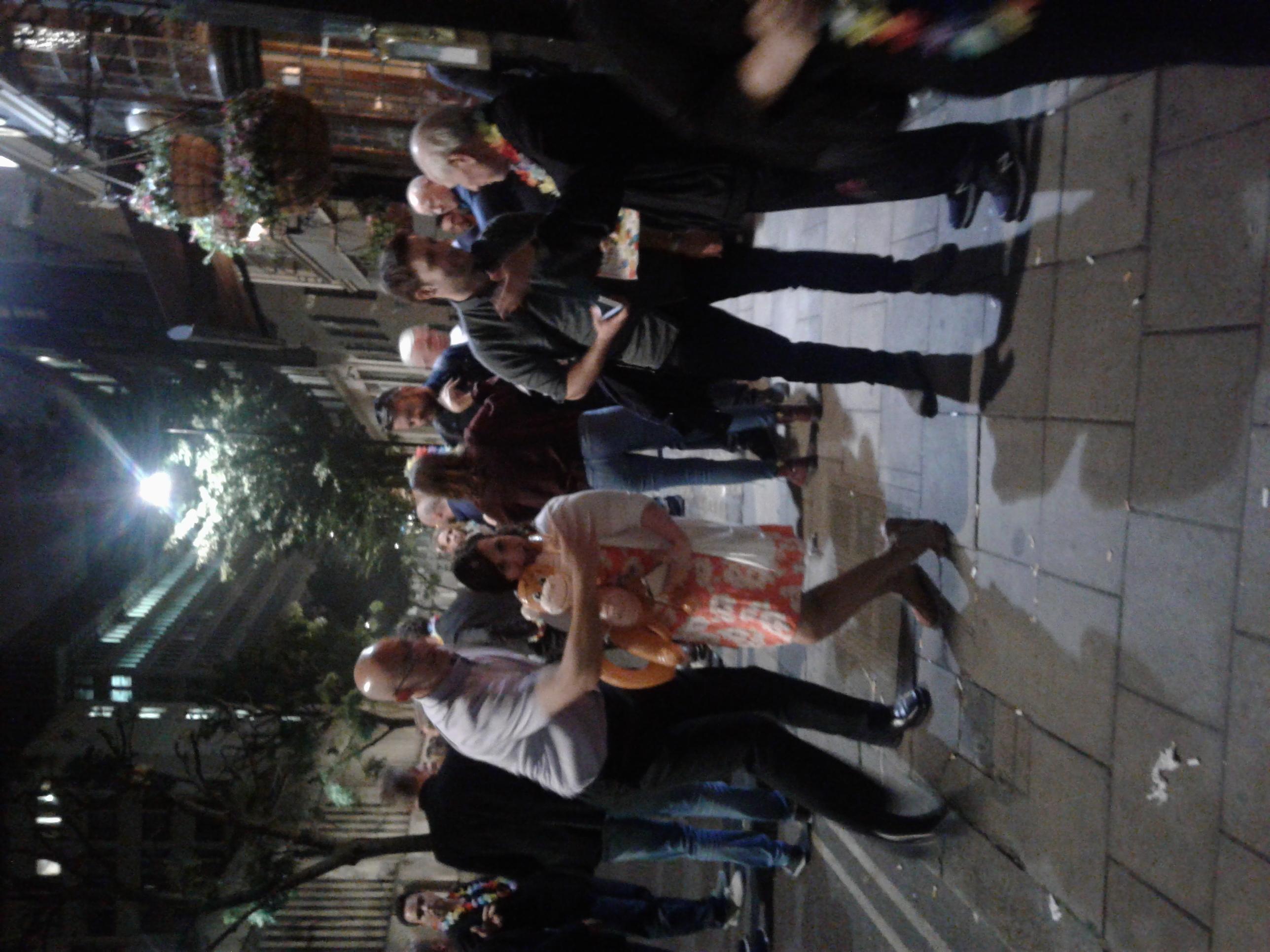 Distoy London 2018 outside on street