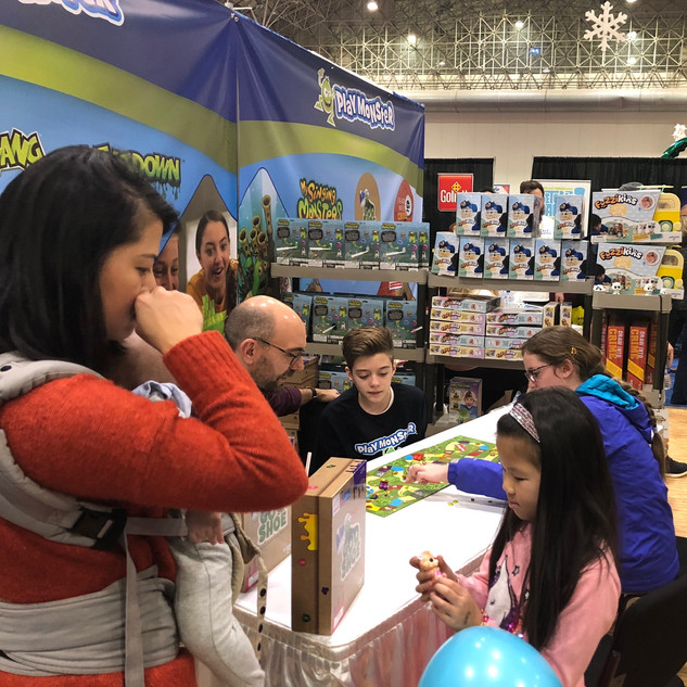 2019 Fair PlayMonster booth, pic by Dani