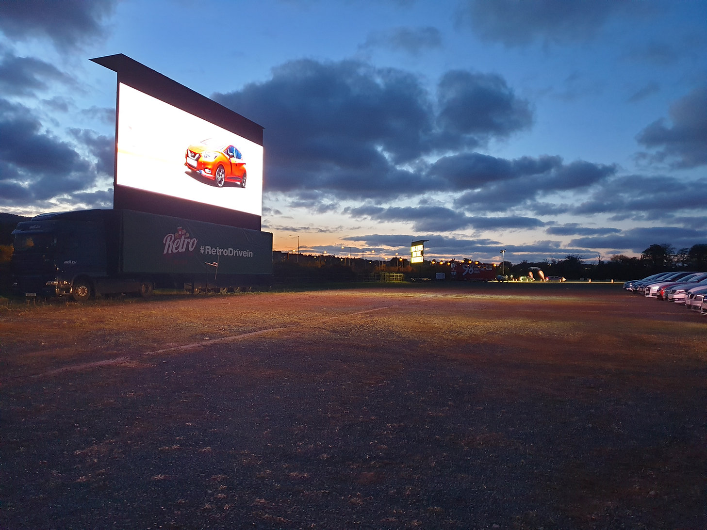 Retro Drive-In Movies, Drive In Cinema