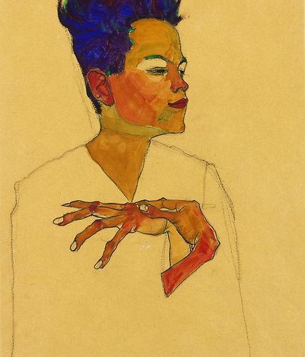 egon-schiele-autoportrait-avec-les-mains