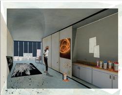 Artist Studio Kitchen