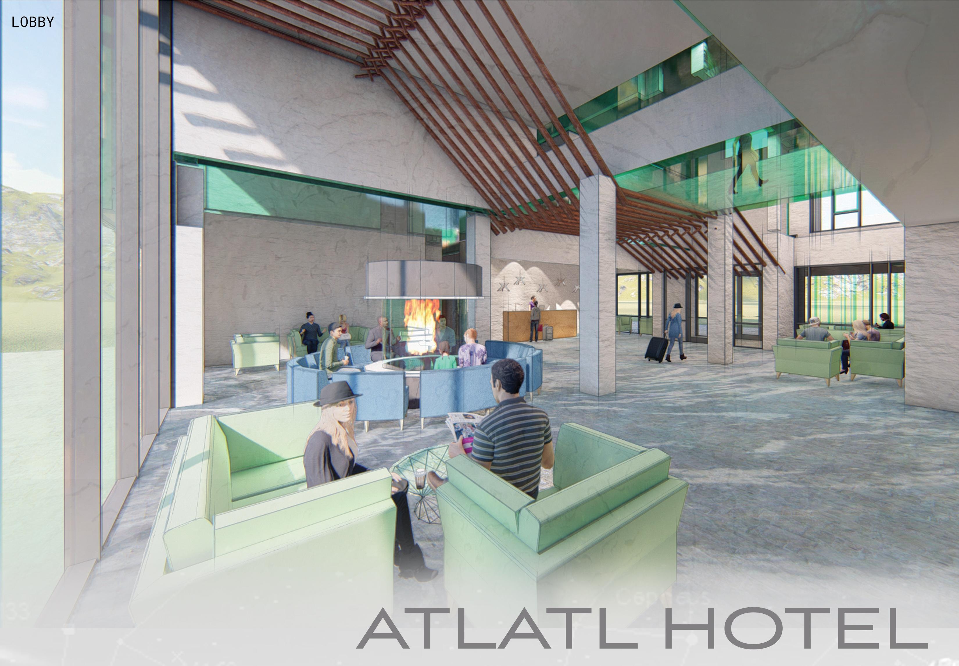 Atlatl Lobby Perspective