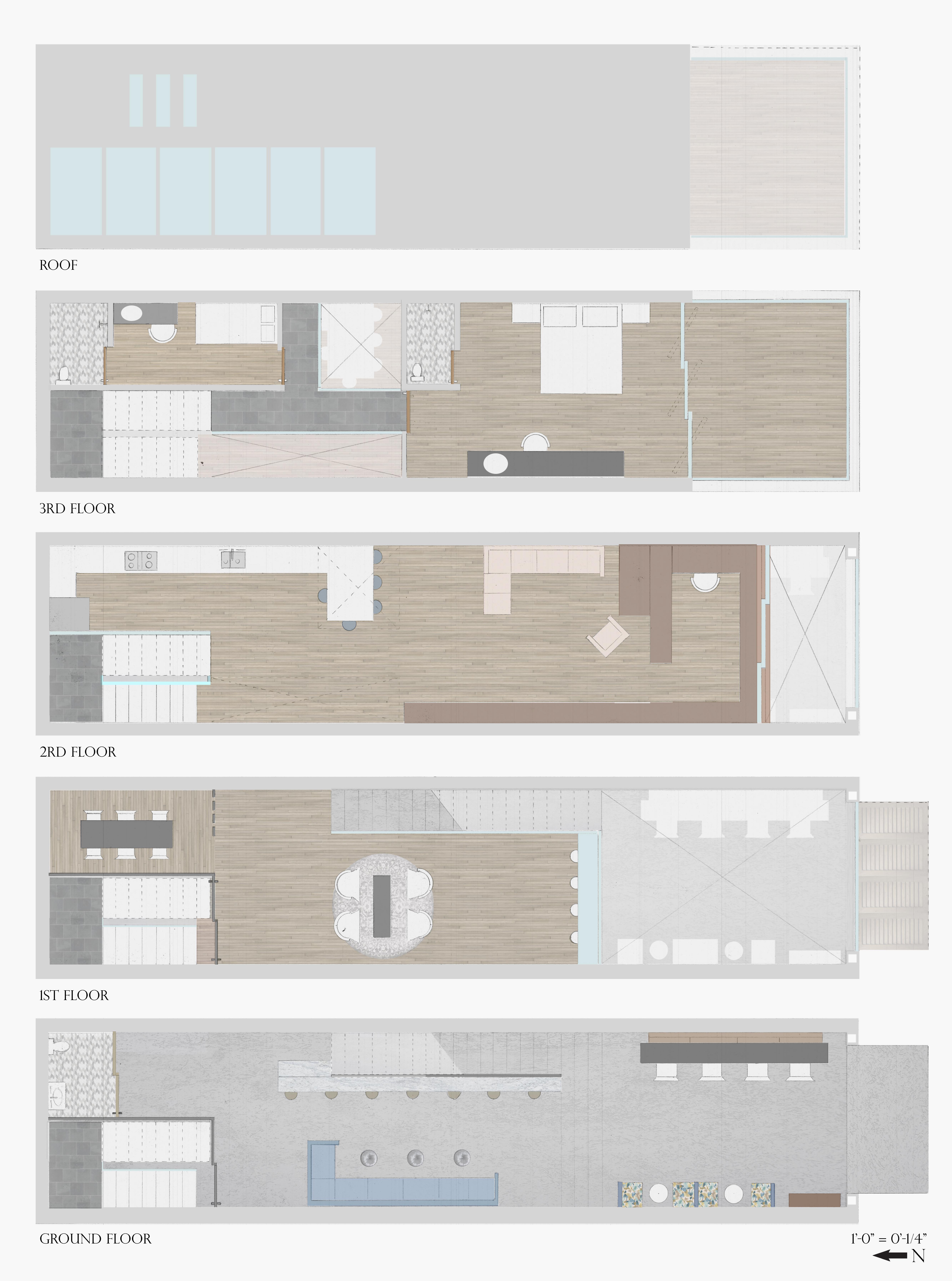 Ho Chi Minh Townhouse Floorplan
