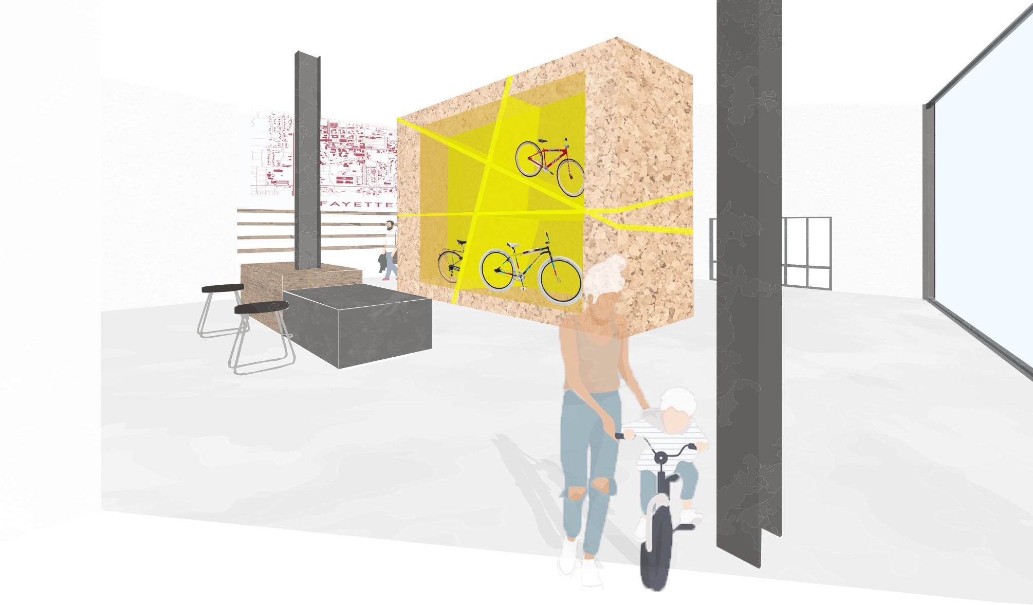 Bike Retail Shop Perspective