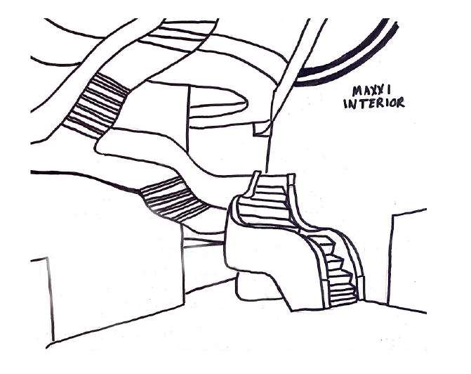 Maxxi Museum Sketch