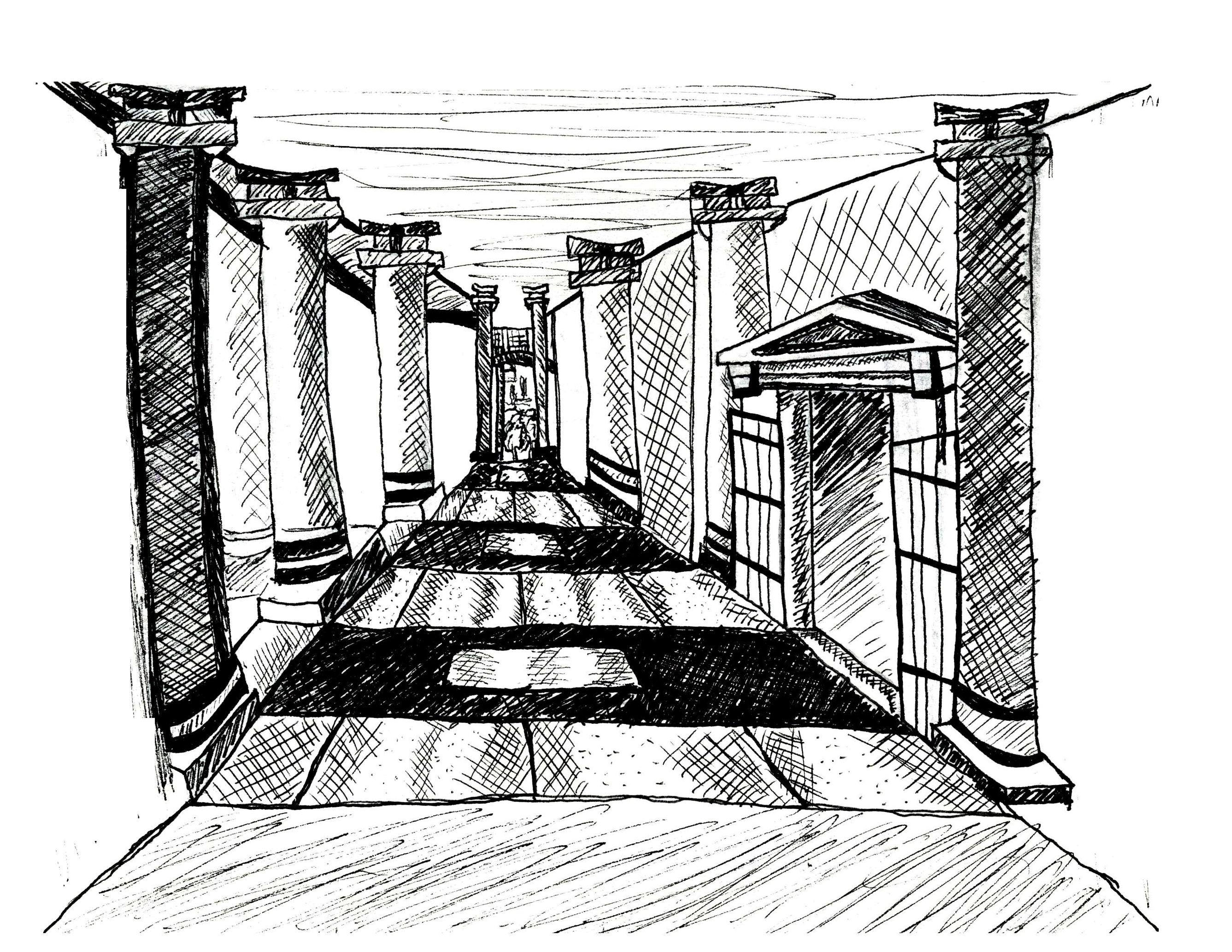 Study Abroad Sketch