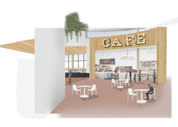 Perspective of Airport Cafe