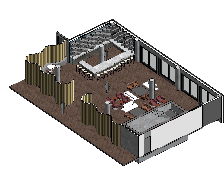 Axon of Hotel Bar