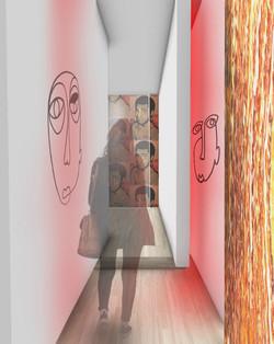 Art Gallery Exhibition Perspective
