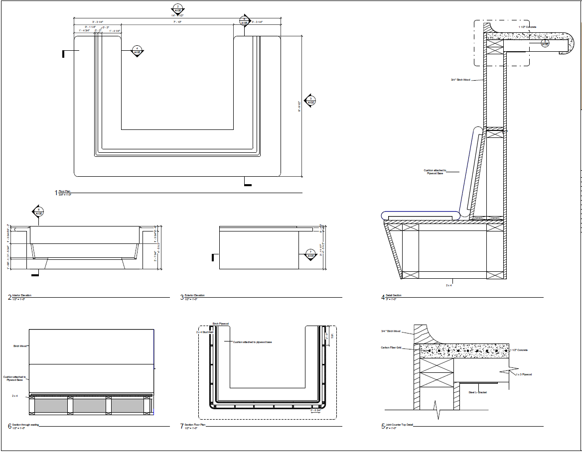 Custom Millwork Construction Doc