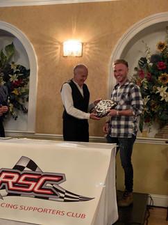 Best Overall Rider & Best International Rider - Davey Todd