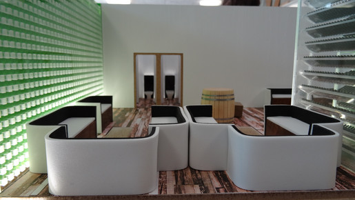 Wine Lounge / Architecture Model