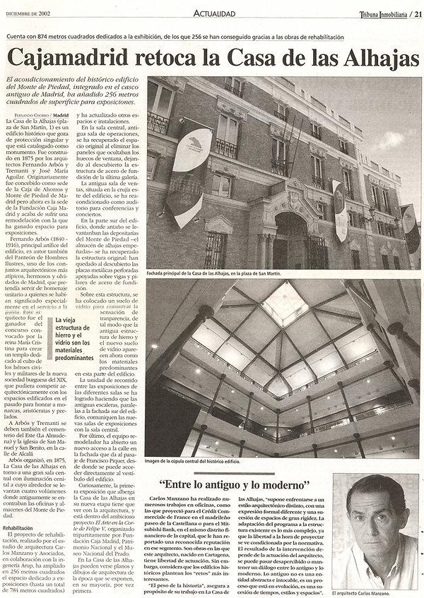 Chorro, F. ( diciembre de 2002 ). Cajama