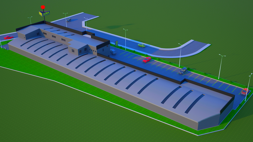 Kapalı Araç Yıkama ve Servis İstasyonu 3