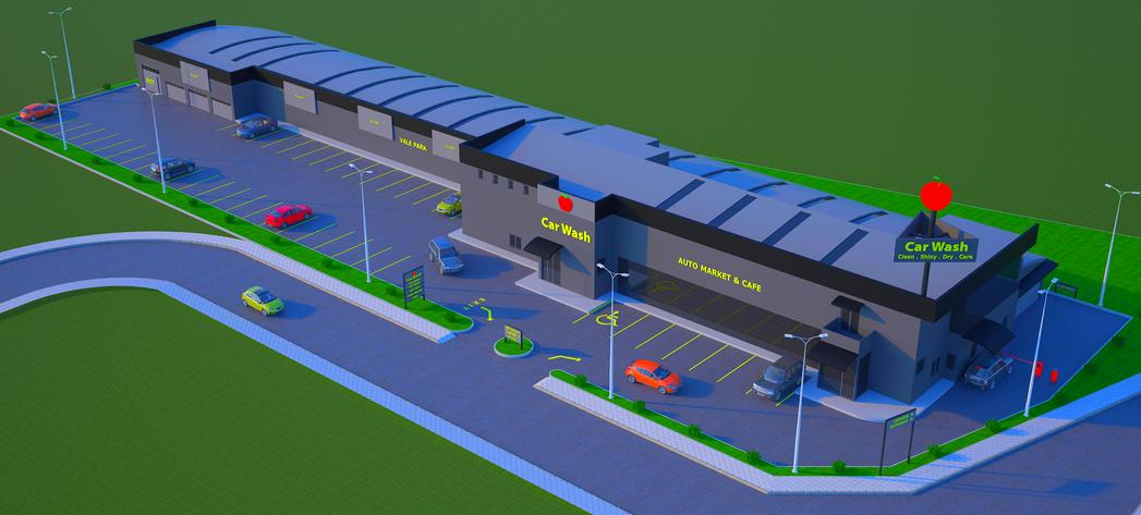 Kapalı Araç Yıkama ve Servis İstasyonu 1