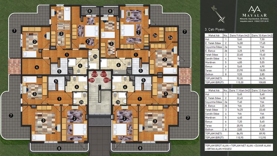 Apartman 3.4