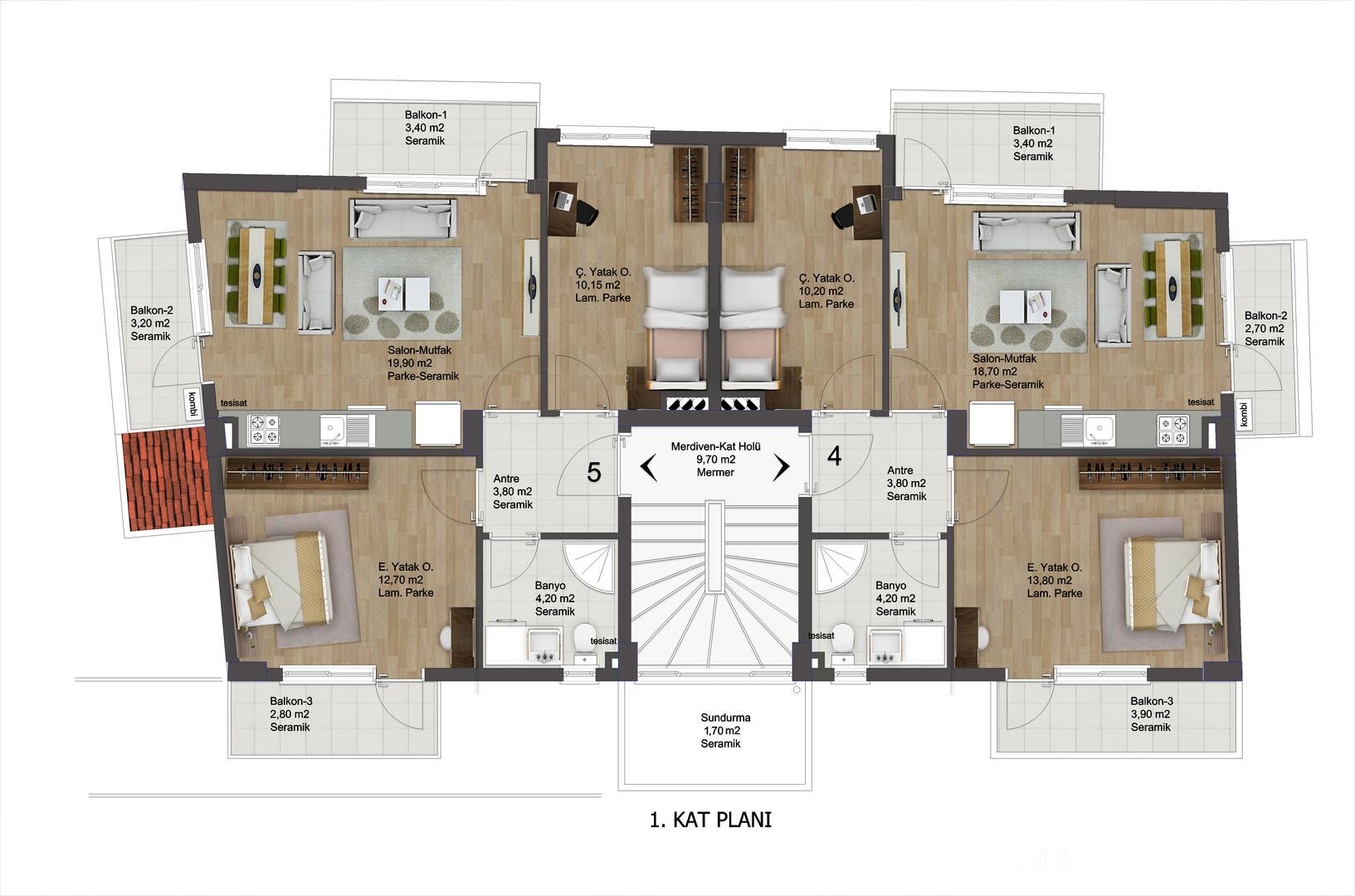Apartman 4.8