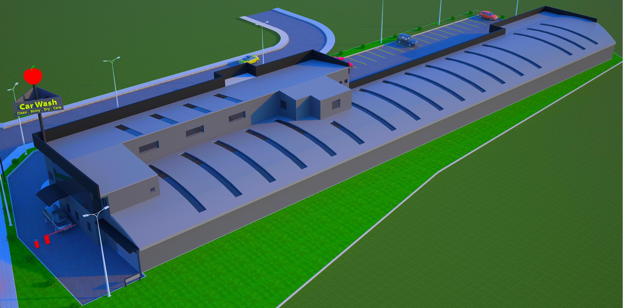 Kapalı Araç Yıkama ve Servis İstasyonu 4