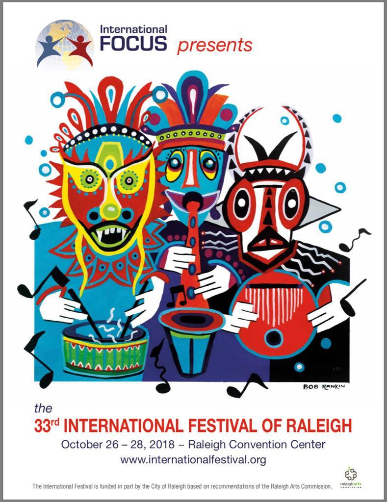 33rd International Festival of Raleigh