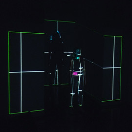 Glitch Cake Projection Mapping