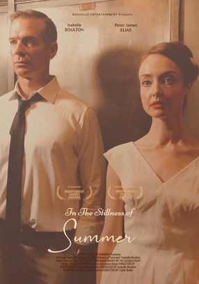 In the Stillness of Summer Poster - with