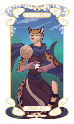 Pentacles-12knight