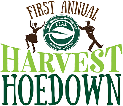 Harvest Hoedown Logo white border FINAL.